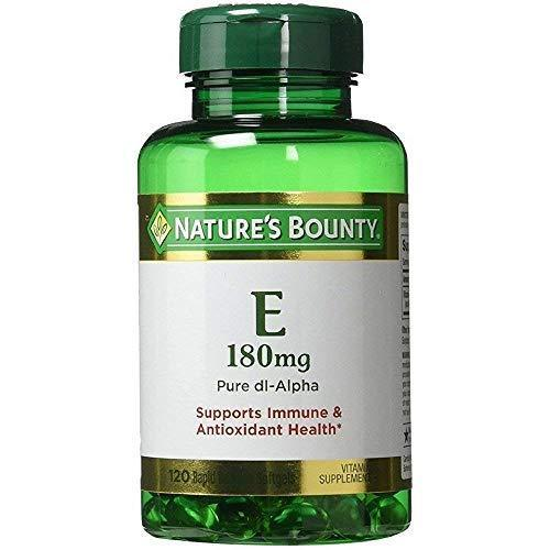 Nature'S Bounty Vitamin E Pills And Supplement, Supports Antioxidant Health, 400Iu, 3 Pack, 120 Softgels Each