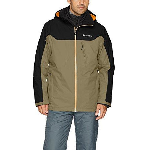 Columbia Men's Whirlibird Interchange Jacket, XX-Large, Sage/Black