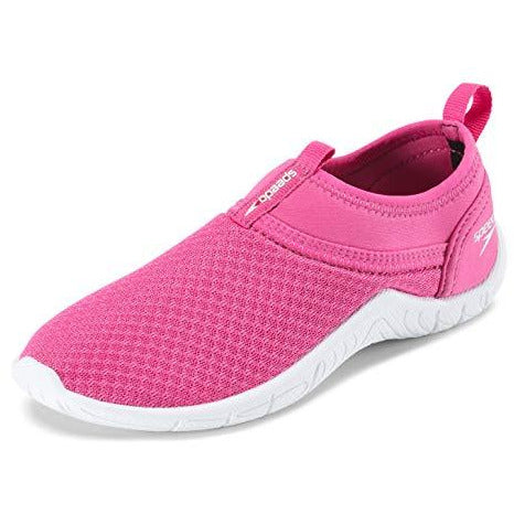 Speedo Boys Tidal Cruiser Water Shoe, Pink/White, 12 Regular US Big Kid