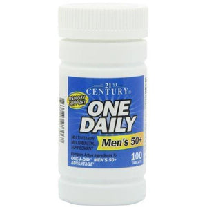21St Century One Daily Men'S 50+ Tablets, 100 Count