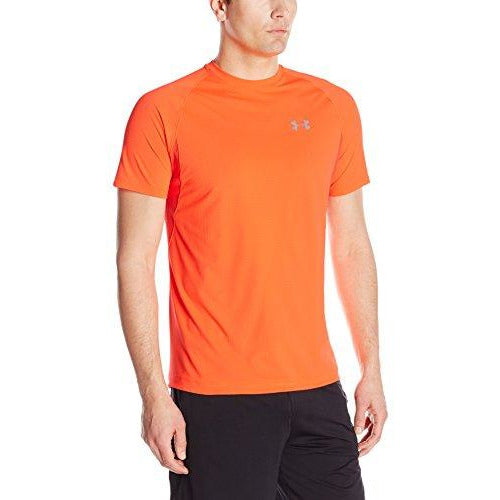 Under Armour Men's Transport Short Sleeve, Phoenix Fire (296)/Reflective, Large
