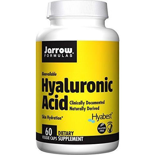 Jarrow Formulas Hyaluronic Acid, Promotes Skin Hydration And Healthy Joints, 60 Capsules