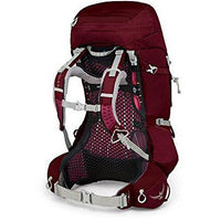Osprey Packs Pack Aura Ag 50 Backpack, Gamma Red, Medium