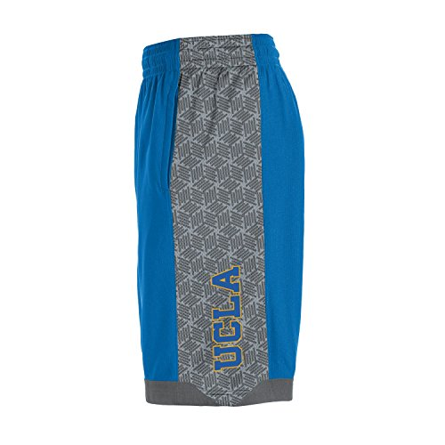 Under Armour NCAA UCLA Bruins Boys Isolation Shorts, Powder keg, Medium