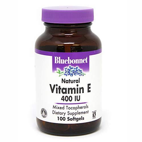 Bluebonnet Vitamin E 400 Iu Mixed Softgels, 100 Count