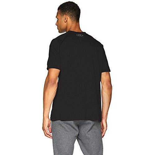 Under Armour Men's Tech T-Shirt Graphic, Black (001)/Zinc Gray, XXX-Large