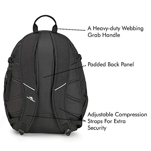 High Sierra Fatboy Backpack - Lightweight And Compact Student Backpack - Stylish Bookbag Or Lunch Backpack For Children, Teens, Or