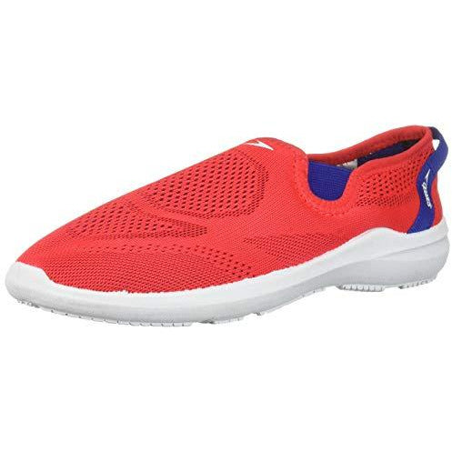 Speedo Unisex Kids' Surfwalker Pro Mesh Water Shoe, red/White/Blue, 6 Regular US Little