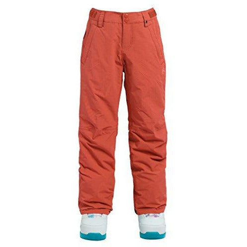 Burton Little Girls Sweetart Pant, Georgia Peach, Medium