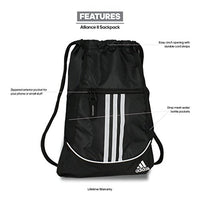 Adidas Alliance Ii Sackpack, Black/White, One Size