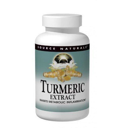 Source Naturals Turmeric Extract 350Mg 95% Curcumin Inhibits Metabolic Inflammation - Herbal Antioxidant With Bioperine Supports Healthy Infammatory Response And Joint Pain Releif - 50 Tablets