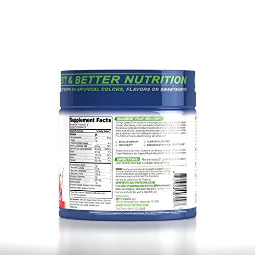 Performance Inspired Nutrition Bcaa Plus, Berry Fruit Blast, 1.39 Lb