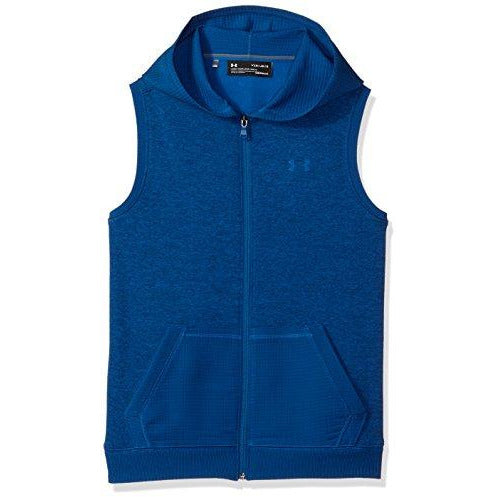 Under Armour Boys' Storm Sf Hoodie Vest, Moroccan Blue (487)/Moroccan Blue, Youth X-Large