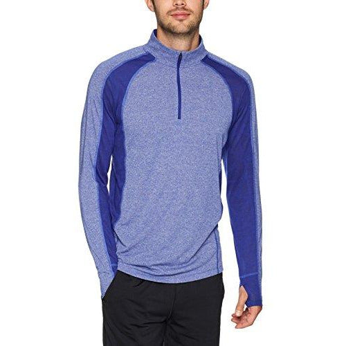 Under Armour Men's Swyft ¼ ZIP, Formation Blue Light /Reflective, Large