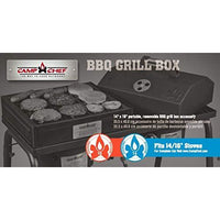 "Camp Chef Bb100L Barbecue Box With Lid Fits 14"" Blue Flame Cooking Systems"