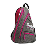 Franklin Sports Pickleball Bag - Official Bag Of The Us Open - Gray/Pink