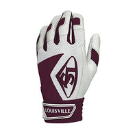 Louisville Slugger Series 7 Batting Glove, Maroon, 2 x Large