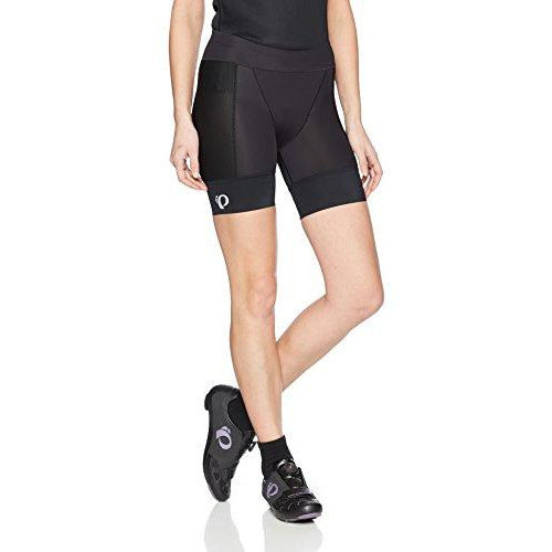 PEARL IZUMI Women's Elite Pursuit Tri Half Shorts, Black, Large