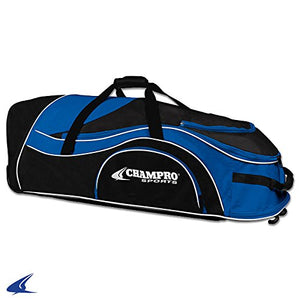 "Champro Sports Catcher'S Roller Bag, Royal, 36"" L X 12"" W X 12"" H"