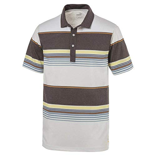 Puma Golf Men's 2019 Pipeline Polo, Chocolate Brown, Large