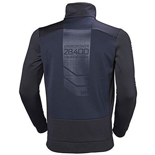 Helly Hansen Men's Hydropower Race Inspired Fleece Jacket, 597 Navy, Large