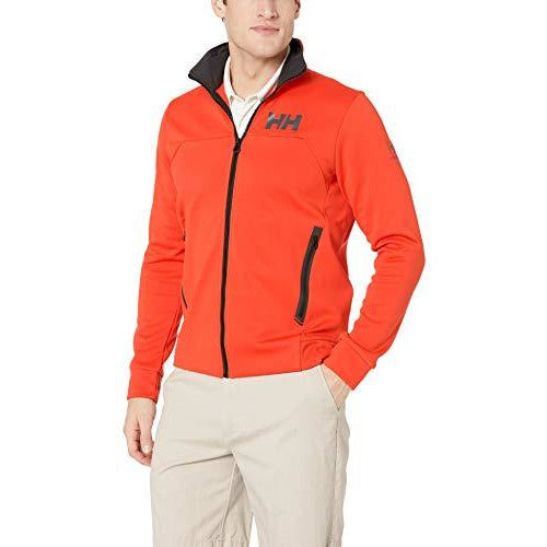 Helly Hansen Men's Hydropower Race Inspired Fleece Jacket, 147 Cherry Tomato, Medium
