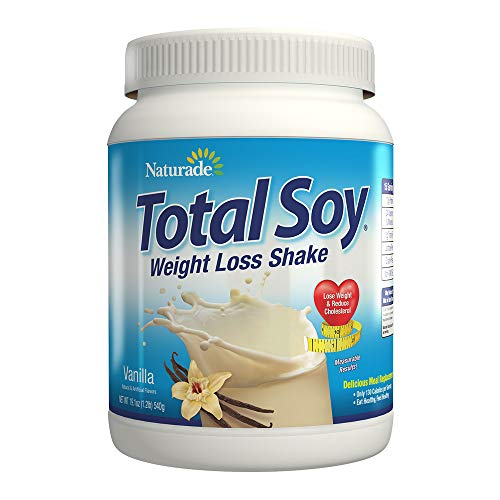 "Naturade Total Soy Weight Loss Shake– Vanilla €"" 19.1 Oz (Natural & Artificial)"