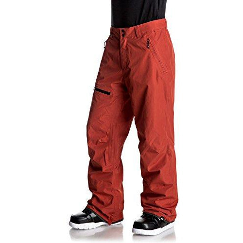 Quiksilver Men's Forever 2l Gore-tex Snowboard Ski Pants, Ketchup red, XL