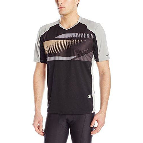 Pearl Izumi - Ride Men's Launch Jersey, Black/Monument Grey, X-Large