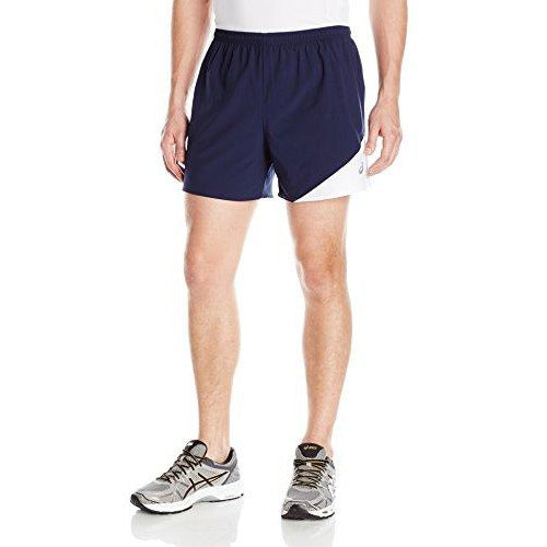Asics Men'S Gunlap Shorts, Navy/White, Medium