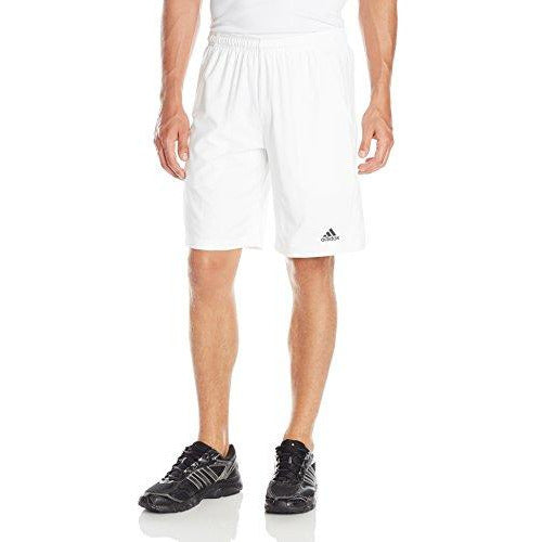 adidas Men's Performance Tennis Sequencials Essex Shorts, White/Black, X-Large