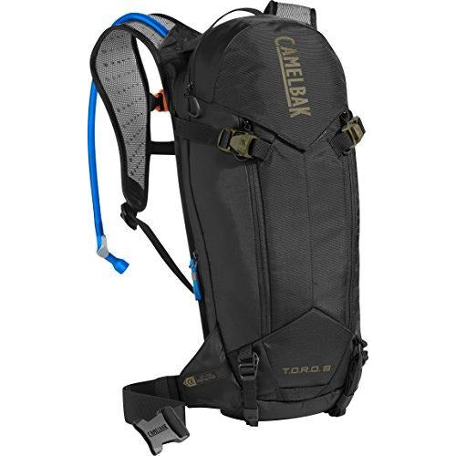 CamelBak T.O.R.O. Protector 8 100 oz Hydration Pack, Black/Burnt Olive