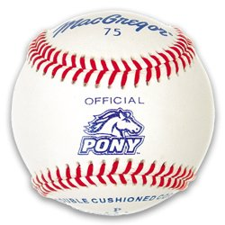 Macgregor #75 Official Pony League Baseball (One Dozen)