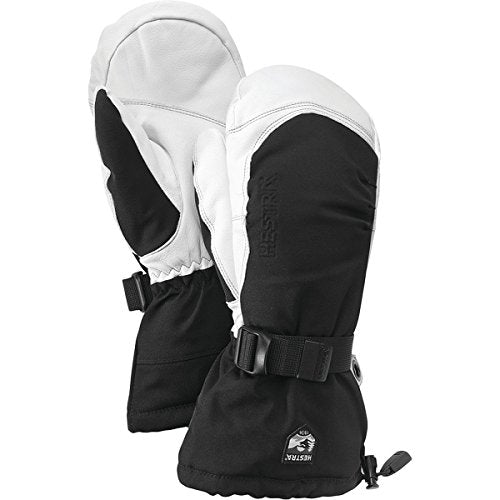 Hestra Army Leather Extreme Mitt Black/Off White 10