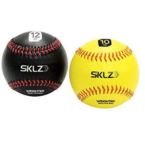 Sklz Weighted Training Baseballs, 10 Ounce And 12 Ounce, 2 Pack