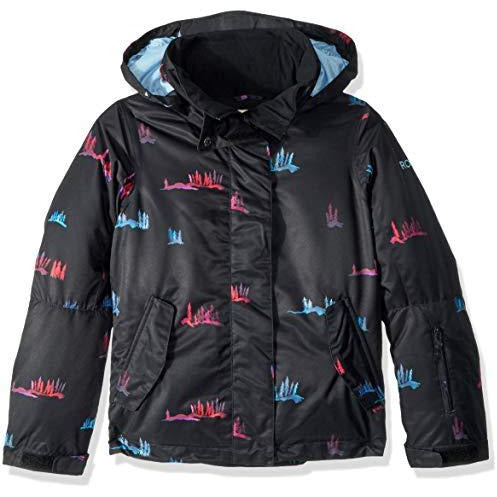 Roxy Little Jetty Girl Snow Jacket, True Black_SNOWSALE, 14/XL