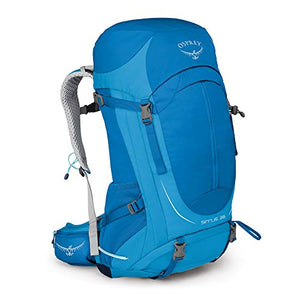 Osprey Packs Sirrus 36 Women'S Hiking Backpack, Summit Blue, X-Small/Small