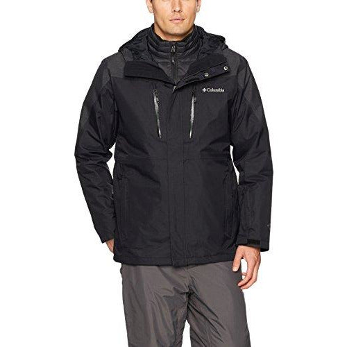 Columbia Men's Calpine Interchange Jacket, XX-Large, Black