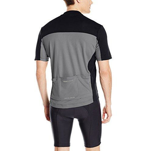 PEARL IZUMI Men's Select Tour Jersey, Black/Smoked Pearl, Large