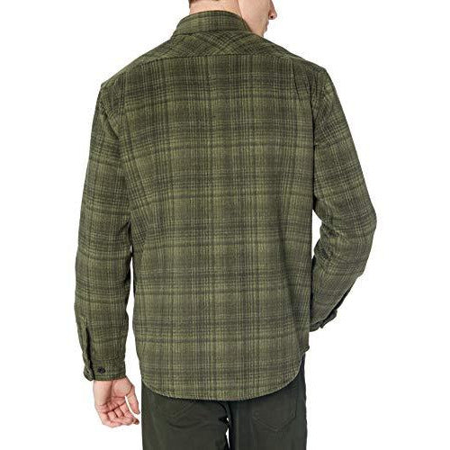 Burton Men's Brighton Tech Insulated Flannel, Resin Humboldt Plaid, Large