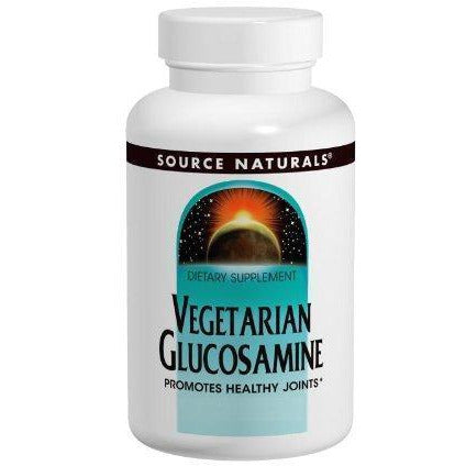 Source Naturals Vegetarian Glucosamine 750Mg, Promotes Healthy Joints, 60 Tablets