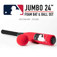 Franklin Sports Mlb Oversized Foam Baseball Bat And Ball (Colors May Vary)