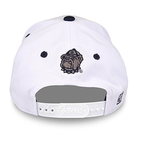 Ncaa Georgetown Hoyas Unisex Ncaa The Game Bar Design Hat G-Town, White, Adjustable