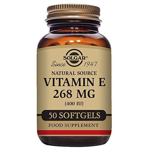 Solgar - Vitamin E 400 Iu (D-Alpha Tocopherol & Mixed Tocopherols) 50 Mixed Softgels