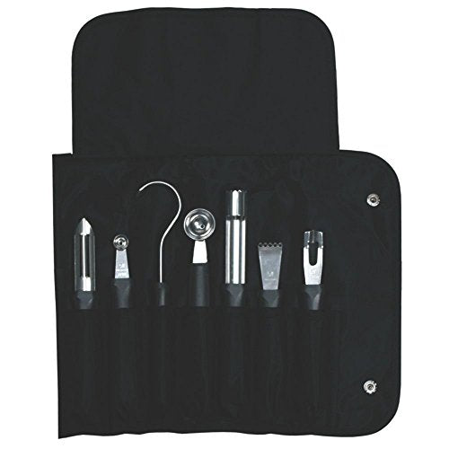Dexter Outdoors 7 Piece Garnishing Tools With Bag