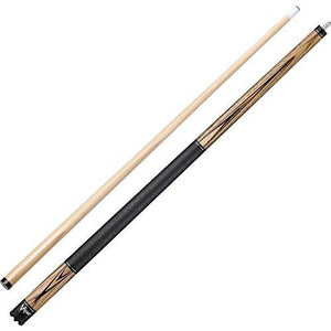 "Viper Elemental 58"" 2-Piece Billiard/Pool Cue, Natural Ash with Wood Grain, 20 Ounce"