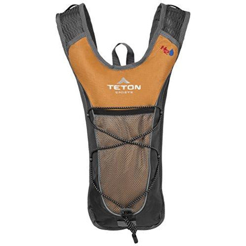 TETON Sports TrailRunner 2.0 Hydration Pack; Backpack for Hiking, Running and Cycling; Free 2-Liter Hydration Bladder; Orange