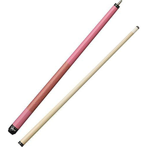 "Viper Junior 48"" 2-Piece Billiard/Pool Cue, Pink Lady, 16 Ounce"