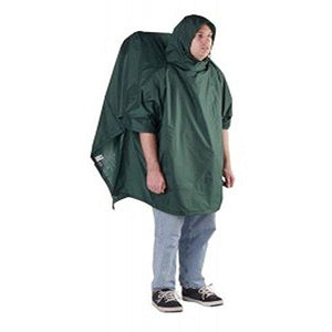 Outdoor Products Backpacker Poncho, Forest Green
