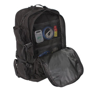 Sandpiper Of California Long Range Bugout Backpack (Black, 26X15.5X10.5-Inch)